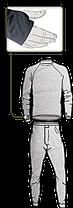 Термобелье US LVL 1 - чёрное , фото 2