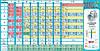 """Стенд """"Таблиця Менделеєва""""  розміром 880х1700мм"""