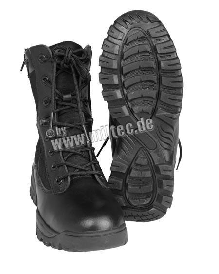 Ботинки MIL-TEC TACTICAL BOOT 2-ZIP Black