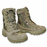 Ботинки тактические с застёжкой-молнией Multicam