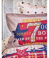 Подростковое постельное белье 160х220 KARACA HOME PEACE BORDO