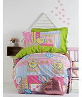 Подростковое постельное белье 160х220 KARACA HOME POPPY GIRL