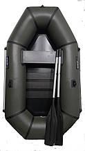 Лодка пвх надувная полутораместная для рыбалки Grif boat GL-210S