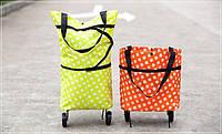 Практичная дорожная сумка на колесах, для покупо