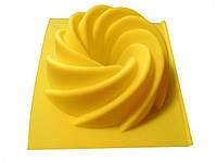 """Силиконовая форма для мыла """"Вихрь"""""""