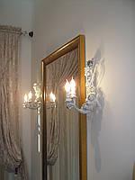 Кованные бра,светильники и люстры разных форм и уровней сложности.