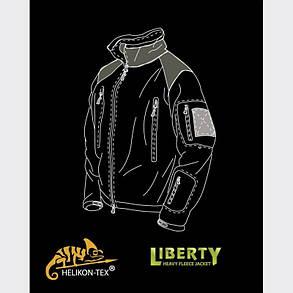 Куртка LIBERTY - Double Fleece - Shadow Grey , фото 2