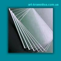 Пластиковое стекло (толщина 1 мм) резаное размером 60х80см