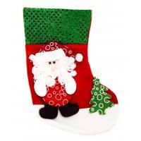 Новогодний носок «Дед Мороз» 24х19