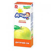 Яблочный сок для детей Агуша, 200 мл