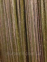 Шторы нити с люрексом радуга 88, фото 3