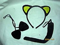 """Набір """"Котик"""" з жовтими вушками"""