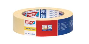 Tesa 4323 малярная  лента тонкая