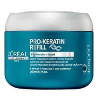 Интенсивно питательная и восстанавливающая маска с кератином. L'Oreal Professionnel Pro-Keratin Refill Masque