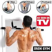 Турник в дверной проем iron gym , фото 1