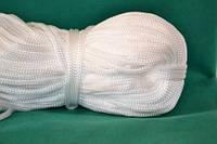 Шнуры вязанные  4 мм 90 м(0,280-0,290кг) . белый