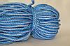 Шнуры вязанные  4 мм 90 м(0,280-0,290кг) . бел/голубой