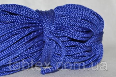 Шнуры вязанные  4 мм 90 м(0,280-0,290кг) . василек