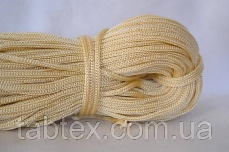 Шнуры вязанные  4 мм 90 м (0,280-0,290кг). молоко