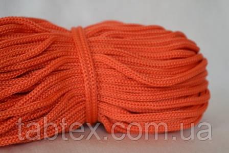 Шнуры вязанные  4 мм 90 м (0,280-0,290кг). оранж