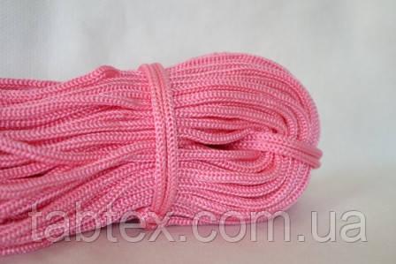 Шнуры вязанные  4 мм 90 м (0,280-0,290кг). розовый
