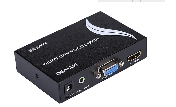 MT-VIKI Конвертер HDMI в VGA (HDMI - VGA+AUX) MT-HV01