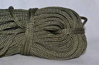 Шнуры вязанные  4 мм 90 м(0,280-0,290кг) .хаки