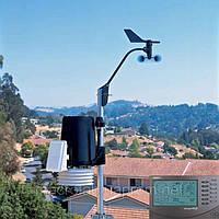 Davis 6162C Метеостанция Vantage Pro2 Plus (Davis Instruments), кабельная, включая датчики солнечной радиации и солнечной активности (ультрафиолета)
