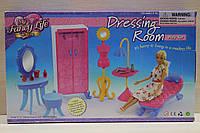 Мебель для Барби, гардеробная, игрушечная мебель для куклы