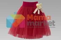 Нарядная юбка для девочки Baby Angel 733, цвет коралл 122