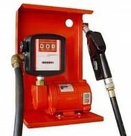 Насос SAG 600 + MG80V, 12В, 45-50 л/хв для заправки, перекачування бензину, гасу, ДТ з лічильником КИЇВ