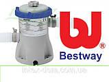 Круглый каркасный бассейн Bestway Steel Pro, арт. 56260, размер 366x100 см, фото 3