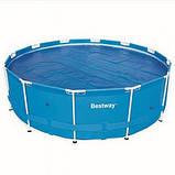 Круглый каркасный бассейн Bestway Steel Pro, арт. 56260, размер 366x100 см, фото 5