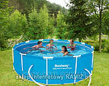 Круглый каркасный бассейн Bestway Steel Pro, арт. 56260, размер 366x100 см, фото 7