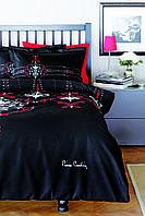 Комплекты постельного белья Pierre Cardin Adora черный