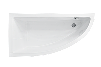 Асимметричная ванна Besco PMD Piramida Praktika 140х70 левая