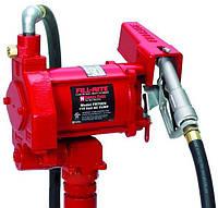 Насос Fill-Rite FR 705VE для перекачування бензину і дизельного палива , 220B, 75 л/хв