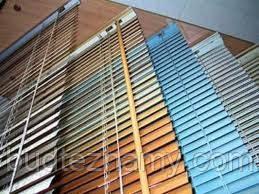 Жалюзи горизонтальные алюминиевые 25 мм, цветные на окна от солнца.