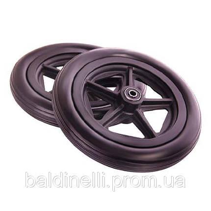 Колеса для инвалидных колясок 12 дюймов транзитные, фото 2