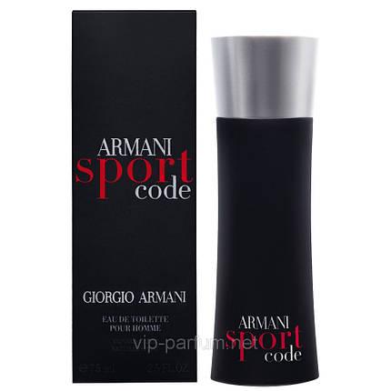 Giorgio Armani Code Sport туалетная вода 125 ml. (Джорджио Армани Код Спорт), фото 2
