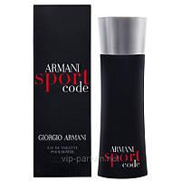 Giorgio Armani Code Sport туалетная вода 125 ml. (Джорджио Армани Код Спорт)