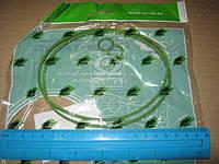 Р/к масляного фильтра Камаз (2 наим.) зелен.силик. (пр-во ГарантАвто) 740-1017001