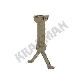 Ручка-сошка тактическая NEW олива ||M51616154-OD