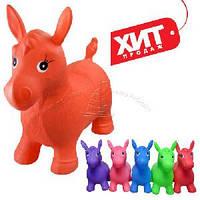 Прыгун лошадка резиновая для детей Bambi MS 0001