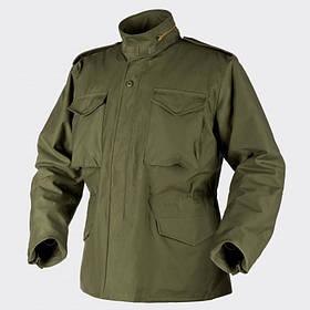 Куртка M65 Helikon-Tex - Nyco Sateen - олива   KU-M65-NY-02