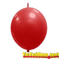 12 дюймов/30 см Линкинг Декоратор Красный