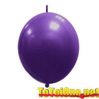 12 дюймов/30 см Линкинг Декоратор Фиолетовый