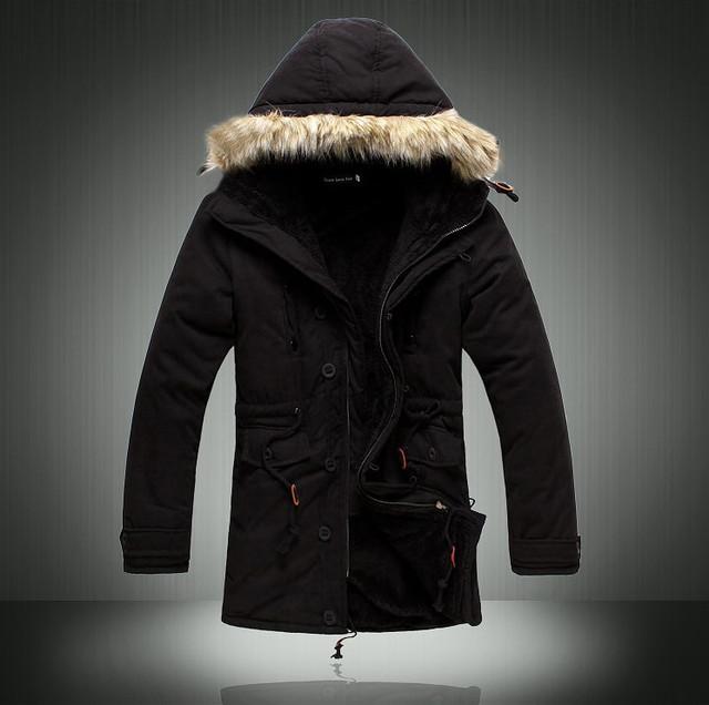 b471292dda0 Мужская Зимняя Куртка Парка на Меху В НАЛИЧИИ
