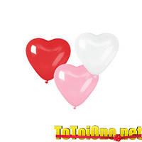 10 дюймов/25 см Сердце Пастель 3 цвета