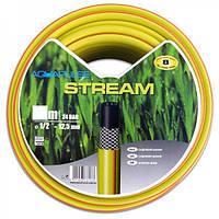 """Шланг поливочный   1/2"""" ПВХ STREAM D=12.5 мм армированный 20 м"""
